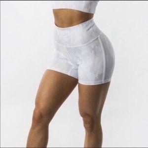 Buff bunny camo shorts